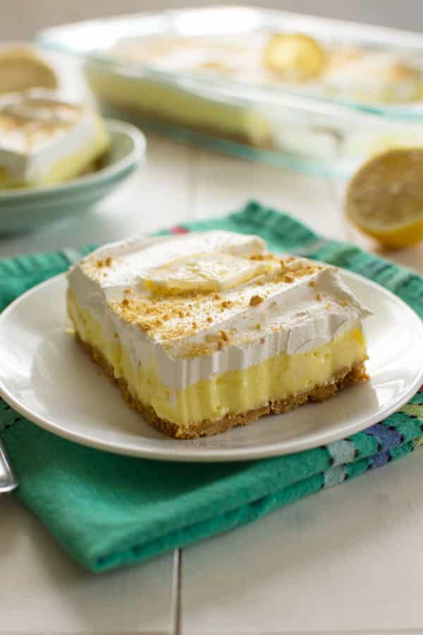 Desserts Made With Cream Cheese  Lemon Cheesecake Pudding Dessert Kitchen Gid