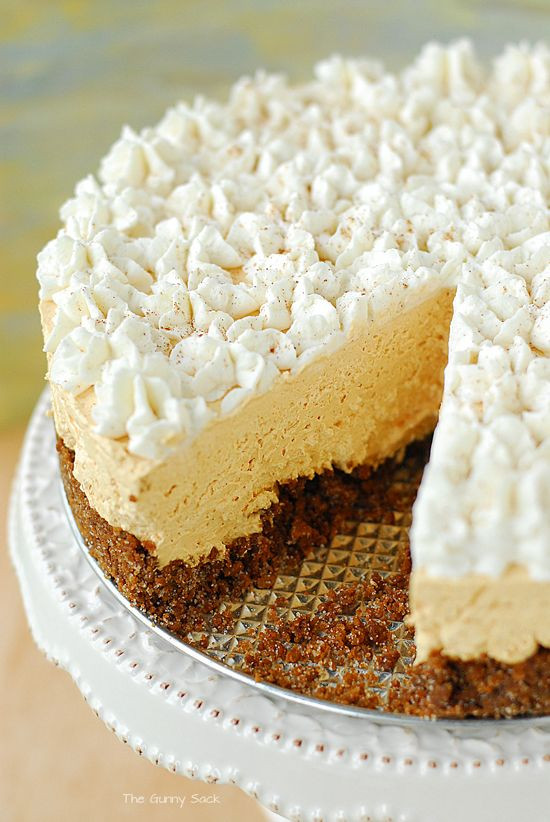 Desserts Made With Cream Cheese  Pumpkin Silk Pie Recipe