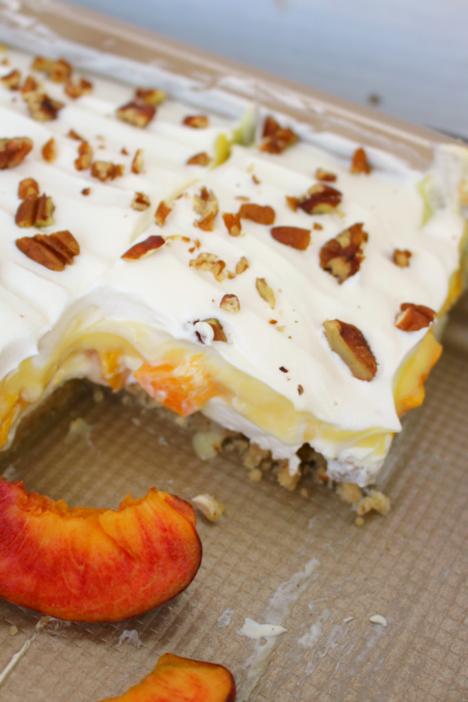 Desserts Made With Cream Cheese  Peaches & Cream Dessert Bars Delightful E Made
