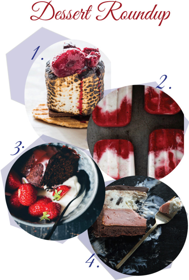 Desserts That Start With A  Summertime Dessert Roundup Start With Four Walls