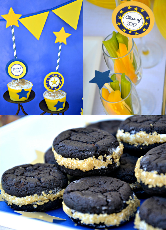 Desserts That Start With A  Graduation Party Ideas & FREE Party Printables Party