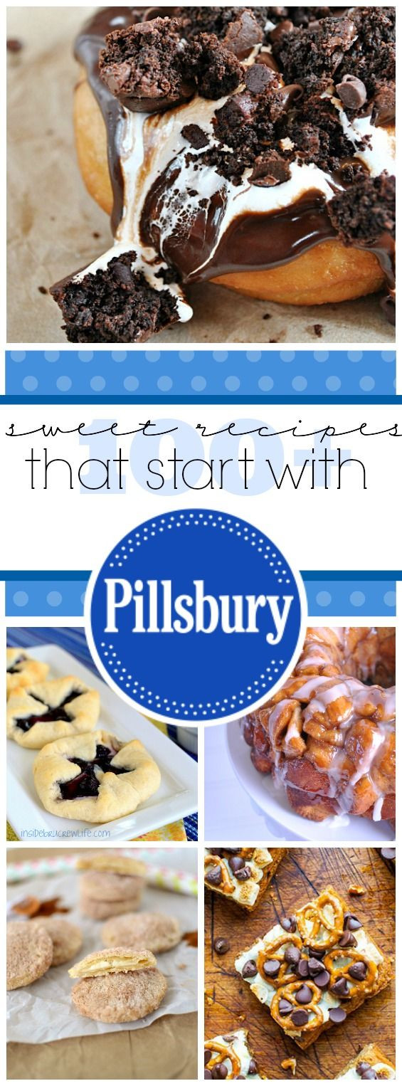 Desserts That Start With A  100 Sweet Recipes That Start with Pillsbury