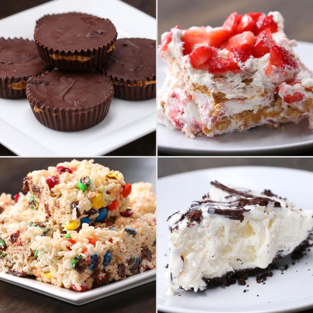 Desserts That Start With C  4 Easy 3 Ingre nt No Bake Desserts