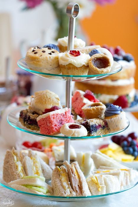 Desserts That Start With C  How to Throw An Afternoon Tea Party