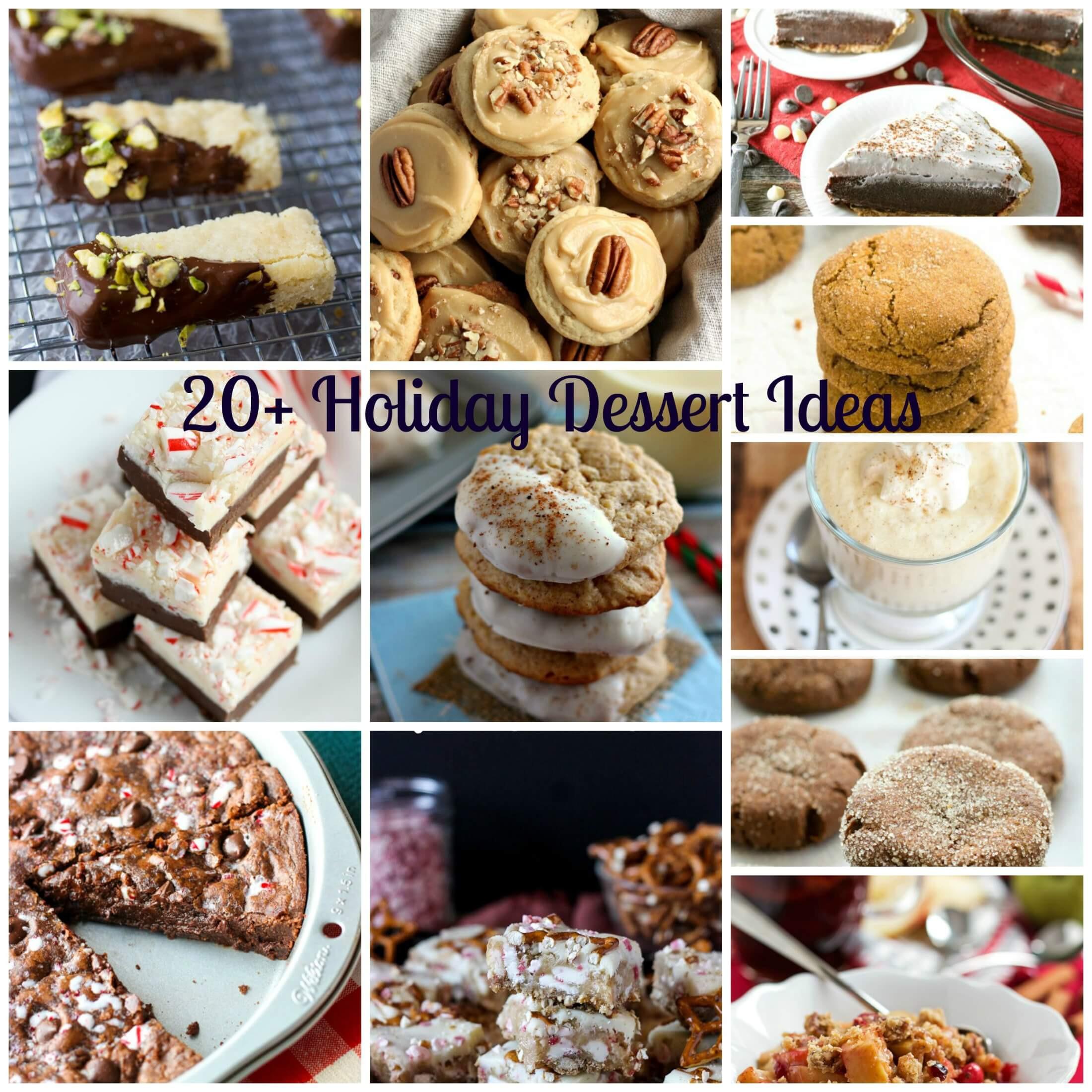 Desserts That Start With N  20 Holiday Dessert Ideas Pumpkin N Spice