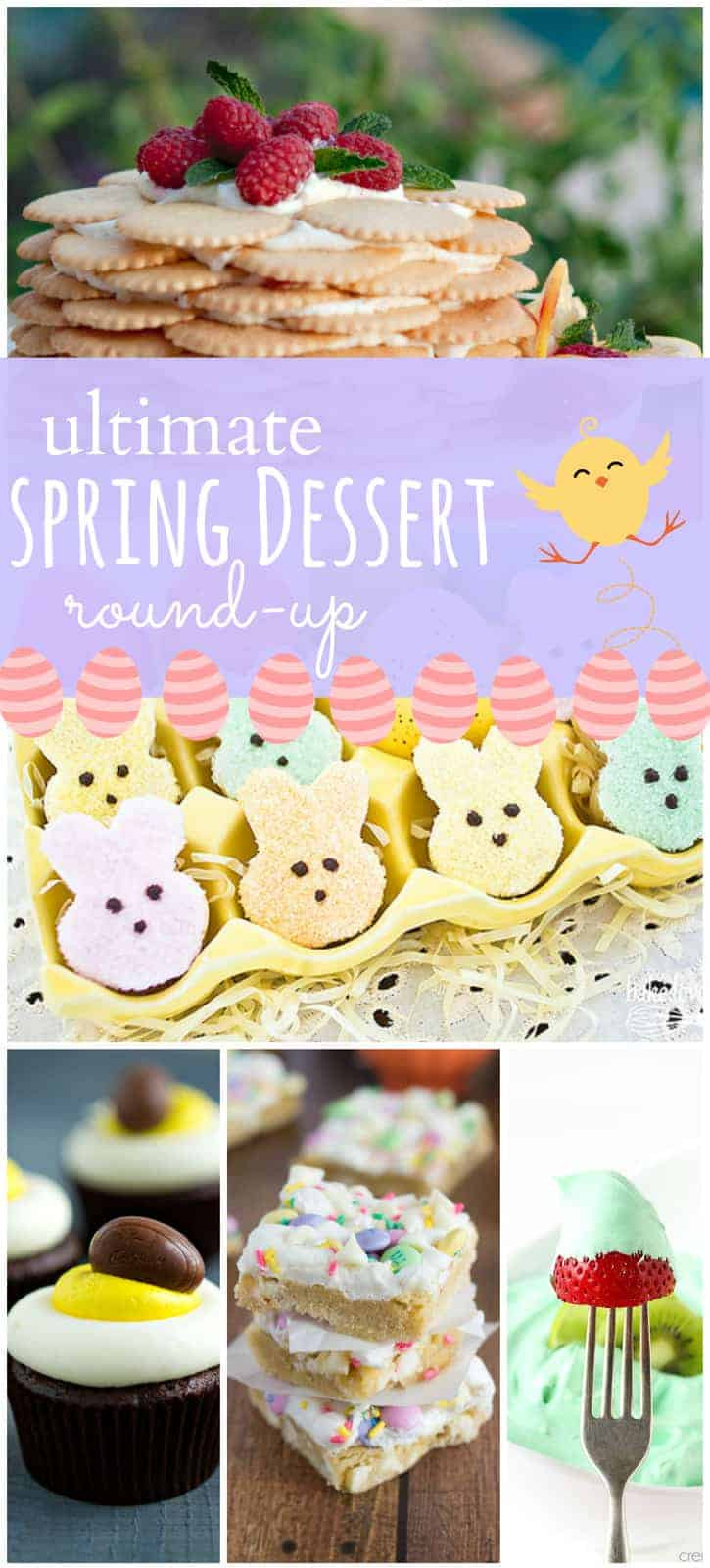 Desserts That Use A Lot Of Eggs  Round up of 50 Spring and Easter Desserts