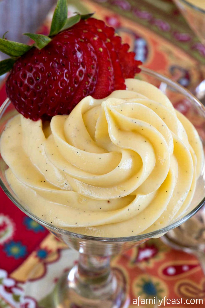 Desserts To Make With Cream Cheese  Vanilla Cream Cheese Custard A Family Feast