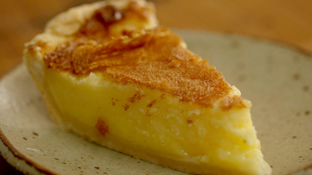 Desserts With Buttermilk  Buttermilk Pie Recipe Dessert Recipes