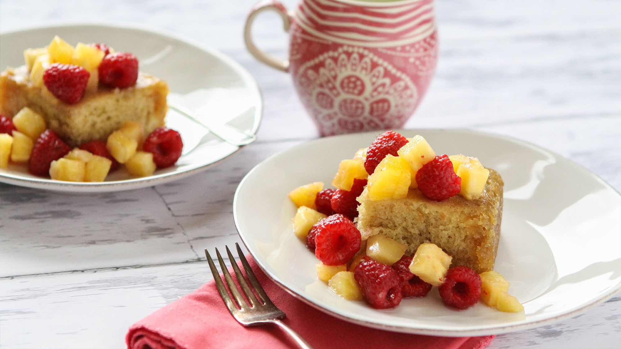 Desserts With Buttermilk  Vanilla Buttermilk Cake with Brown Butter Sauce Recipe