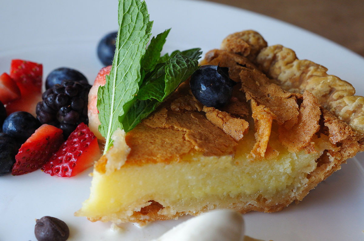 Desserts With Buttermilk  Buttermilk pie