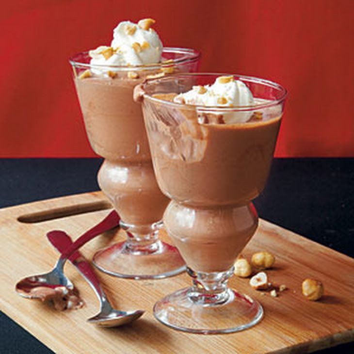 Desserts With Cocoa Powder  Chocolate Hazelnut Mousse Recipe Desserts with sugar