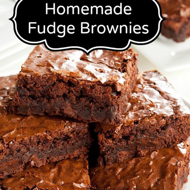 Desserts With Cocoa Powder  Fudge Brownie Recipe Desserts with margarine sugar