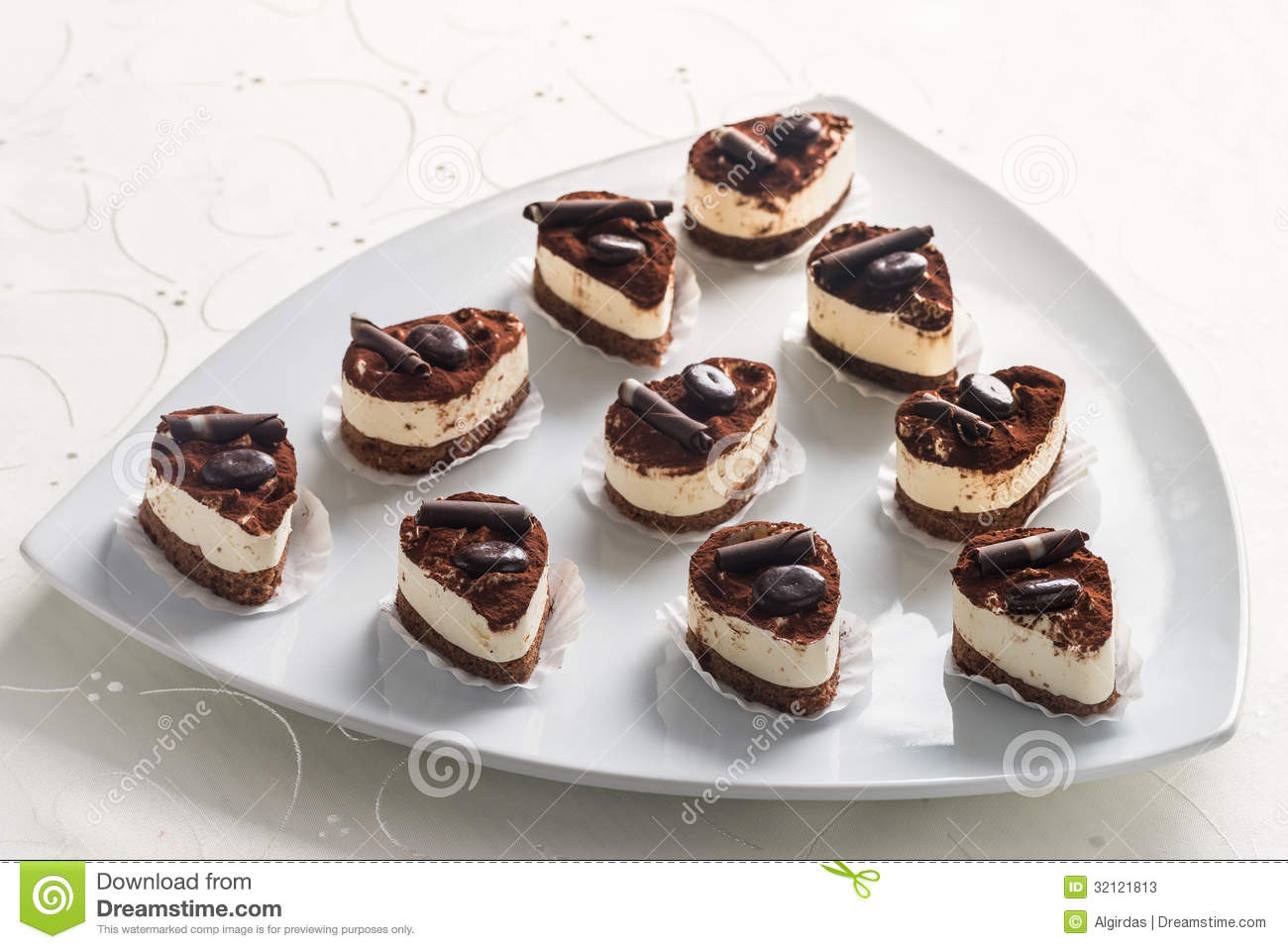 Desserts With Cocoa Powder  Desserts With Cocoa Powder And Chocolate Stock s