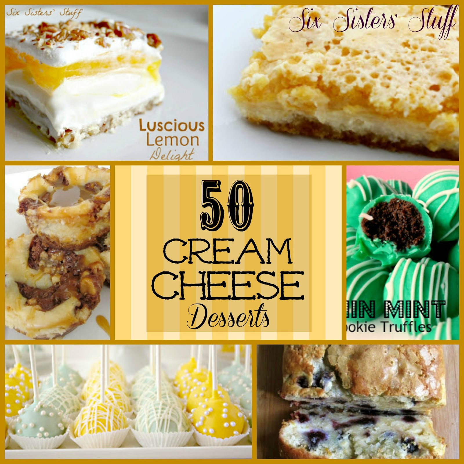Desserts With Cream Cheese  50 Cream Cheese Desserts