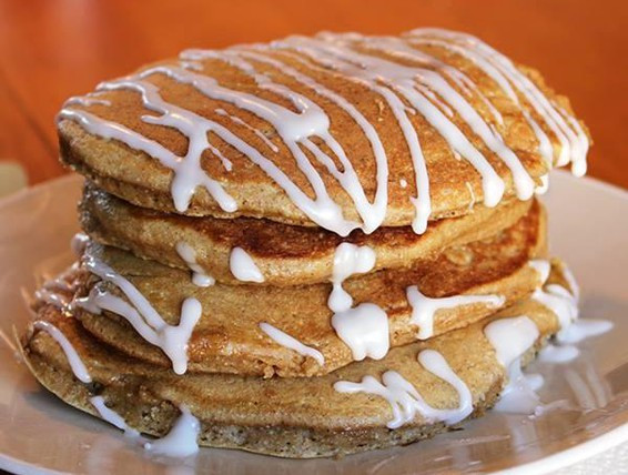Desserts With Pancake Mix  Recipe Fancy Cake Mix Pancakes