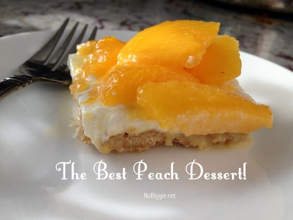 Desserts With Peaches  The best peach dessert