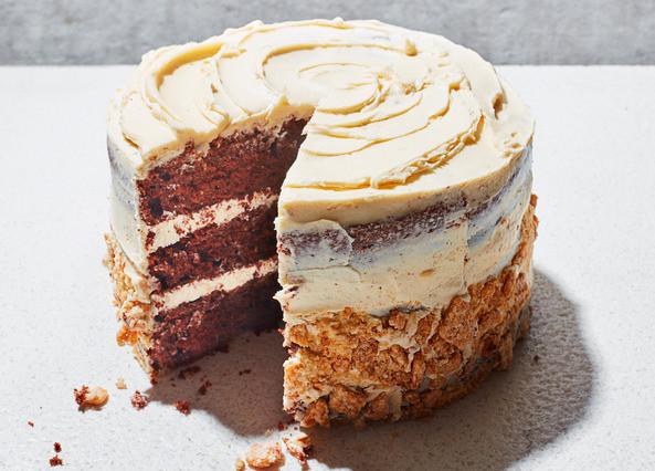 Devil'S Food Cake Recipe  Recipe Chocolate cauliflower cake with tahini frosting