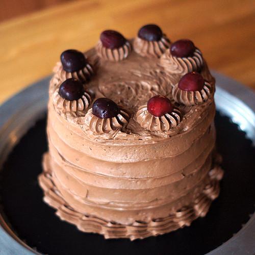 Devil'S Food Cake Recipe  Devil s Food Cake with Amaretto Frosting