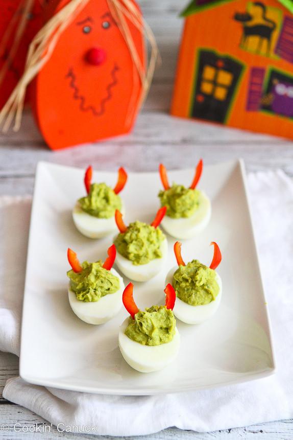 Deviled Eggs Halloween  11 Spooky Deviled Egg Recipies Spooky Little Halloween