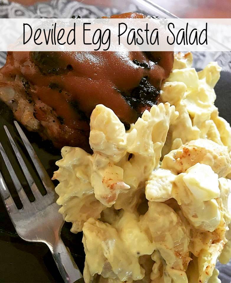 Deviled Eggs Pasta Salad  Deviled Egg Pasta Salad