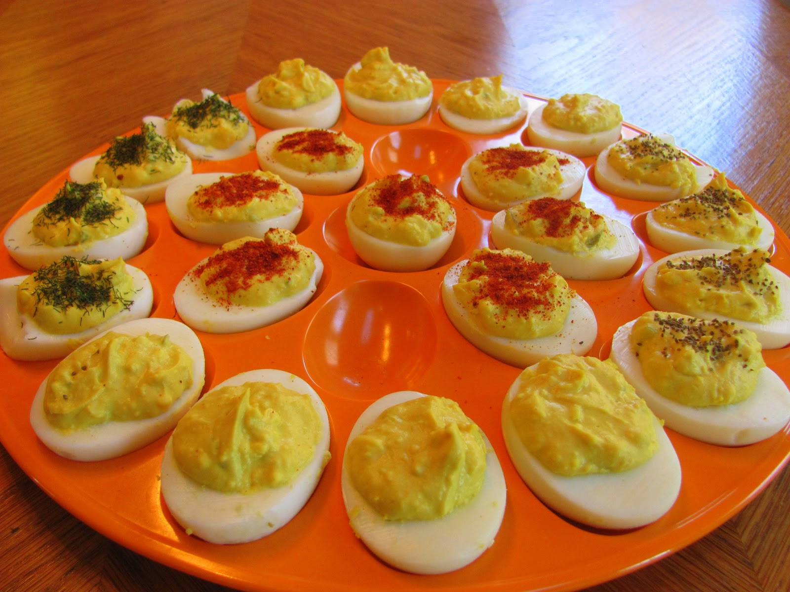 Deviled Eggs Thanksgiving  Foo Patoo THANKSGIVING RECIPE Classic Deviled Eggs