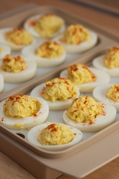 Deviled Eggs Thanksgiving  Thanksgiving Deviled Eggs Big Flavors from a Tiny Kitchen