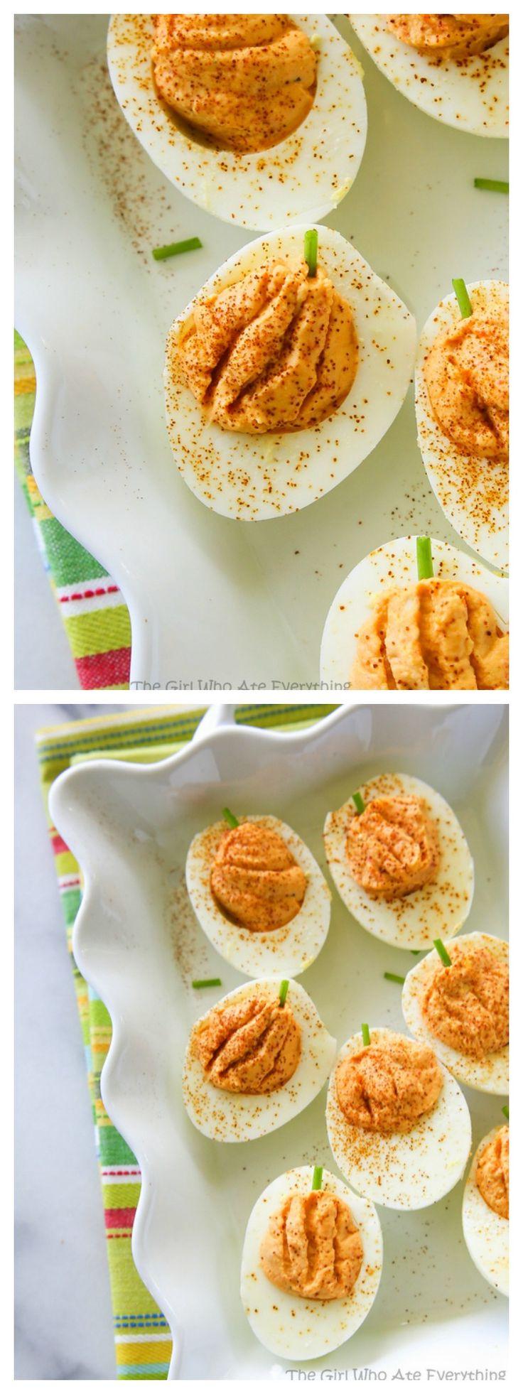 Deviled Eggs Thanksgiving  25 bästa Deviled eggs idéerna på Pinterest