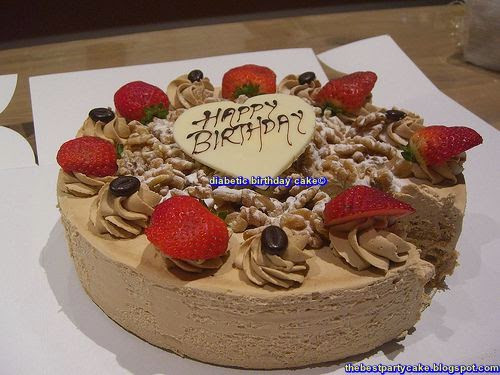 Diabetic Birthday Cake  Delicious Healthy Recipe for Diabetic Birthday Cake The