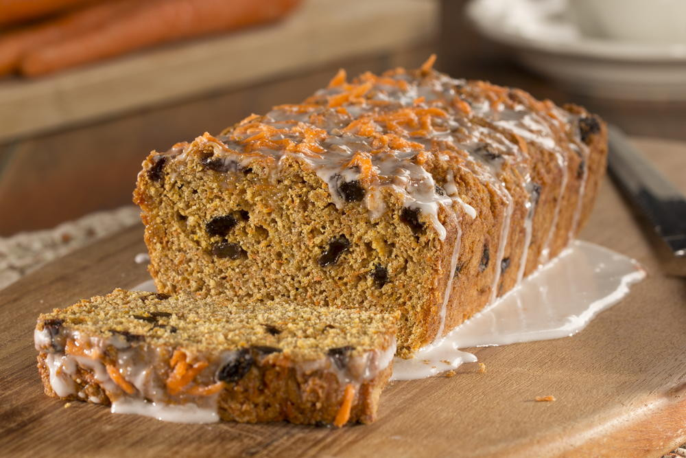 Diabetic Bread Recipes  Carrot Cake Bread