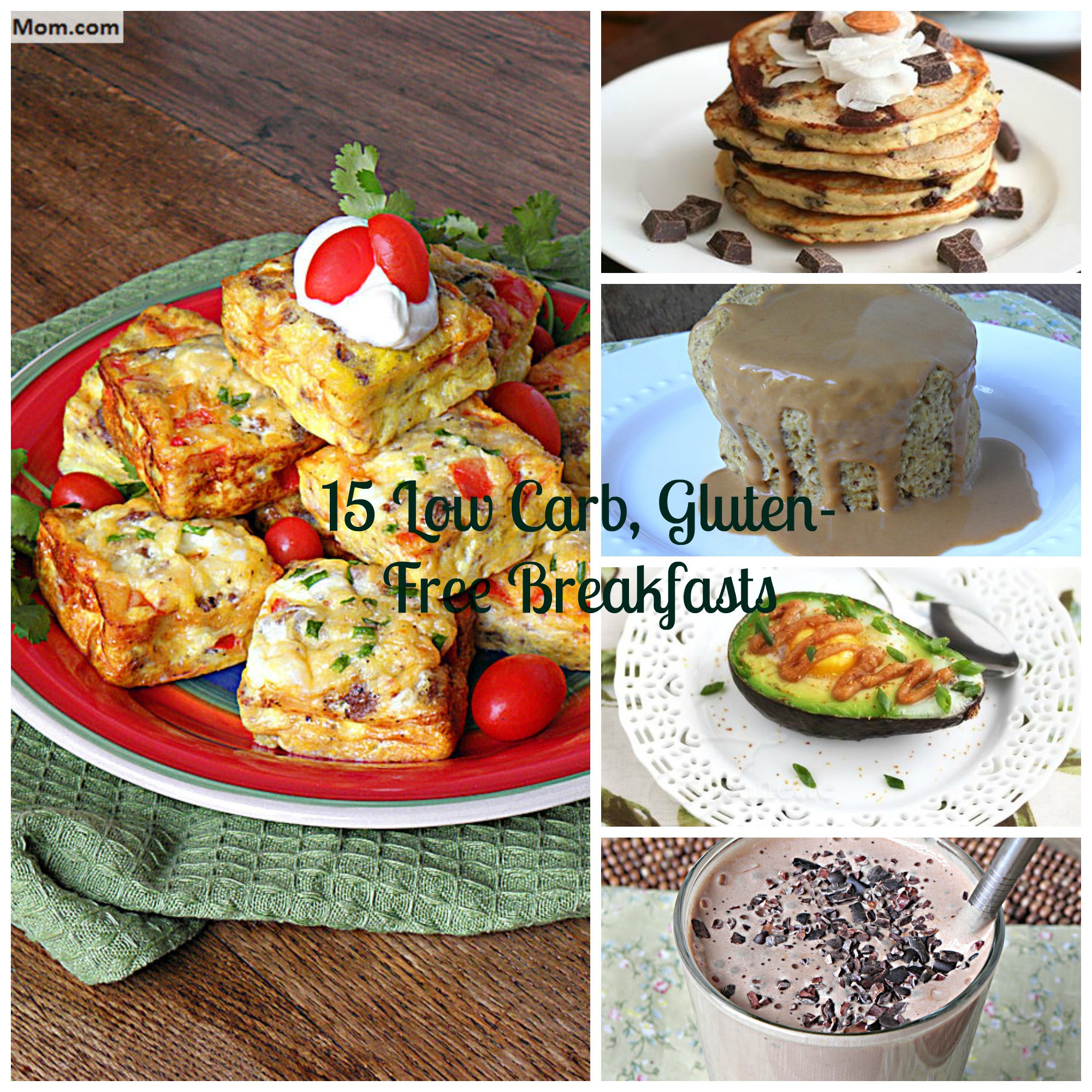 Diabetic Breakfast Recipes Low Carb  15 Gluten Free Low Carb & Diabetic Friendly Breakfast Recipes