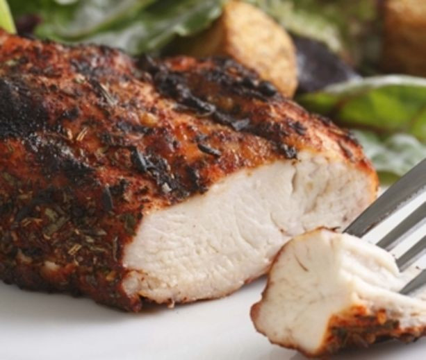 Diabetic Dinner Ideas  Paprika Herb Rubbed Chicken and other easy recipes for