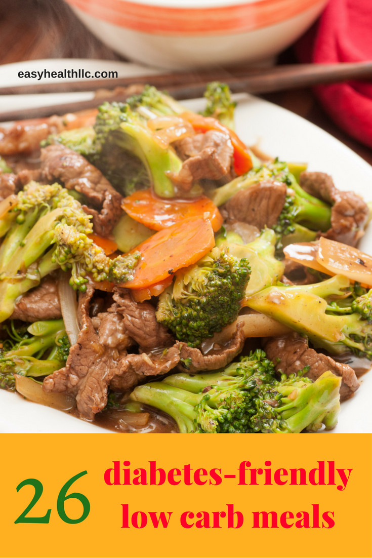 Diabetic Dinner Ideas  26 More Diabetes Low Carb Meals You Can Almost Make