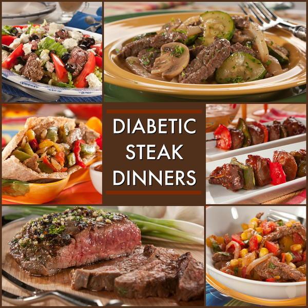 Diabetic Dinner Recipes  8 Great Recipes For A Diabetic Steak Dinner