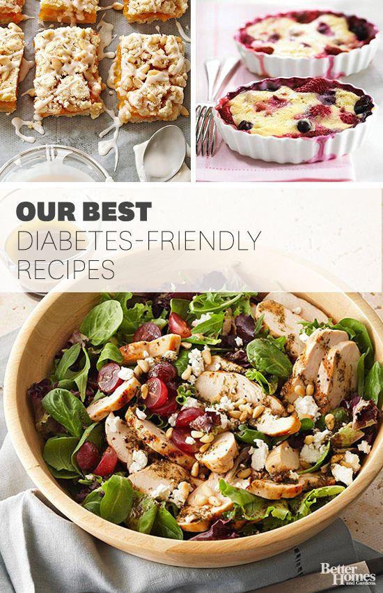Diabetic Dinner Recipes  Start building your diabetic recipe repertoire