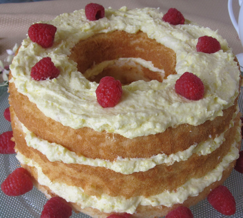 Diabetic Friendly Desserts  Easy Lemon Angel Food Cake cancer and diabetic friendly