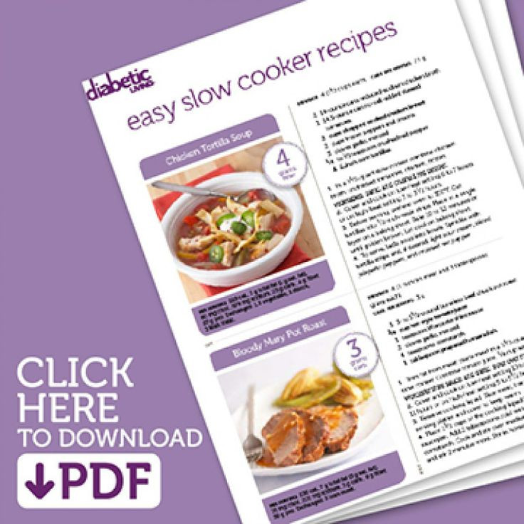 Diabetic Living Recipes  1000 images about Diabetic Slow Cooker Recipes on