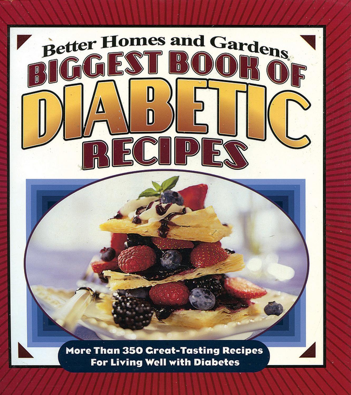 Diabetic Living Recipes  Biggest Book of Diabetic Recipes More Than 350 Great