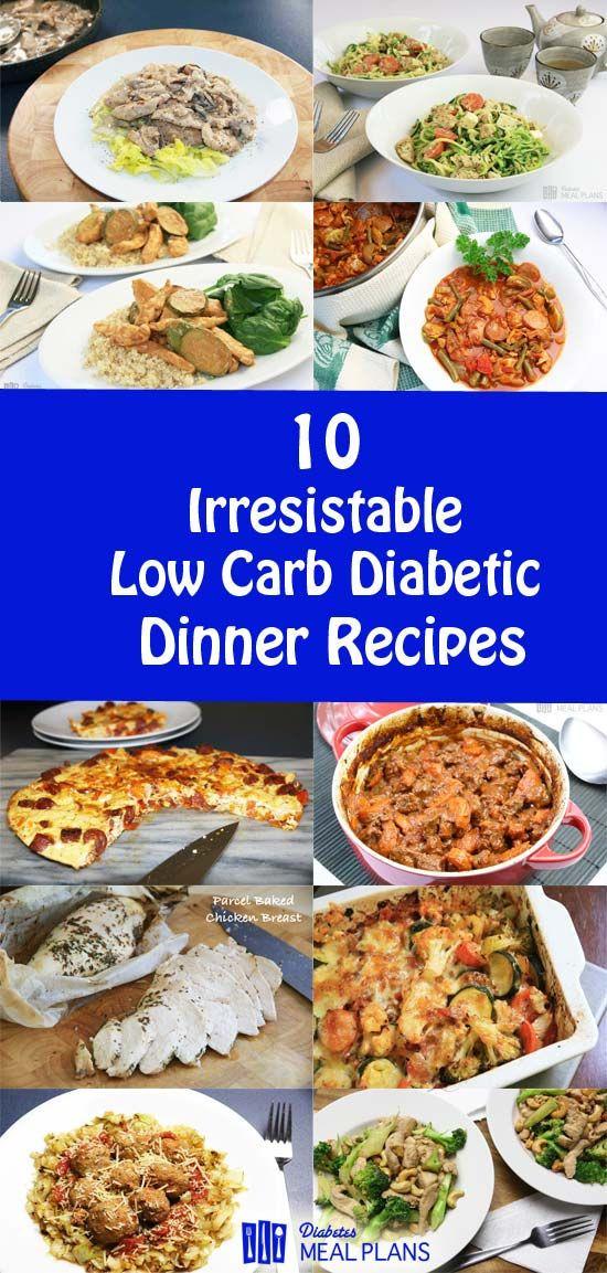Diabetic Meal Recipes  507 best Diabetes Meal Plans Blog images on Pinterest