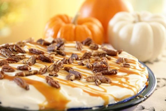 Diabetic Pumpkin Pie  Sugar Free Treat without the graham cracker crust and