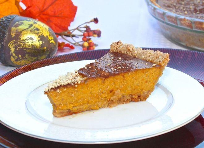 Diabetic Pumpkin Pie  Honey d Paleo Pumpkin Pie • Great Food and Lifestyle