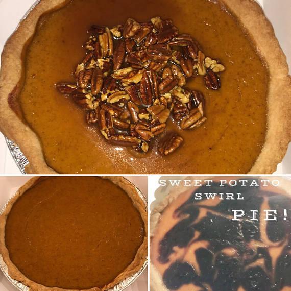 Diabetic Pumpkin Pie  Pumpkin Pie or Sweet Potato Pie Plain or Purple Potato