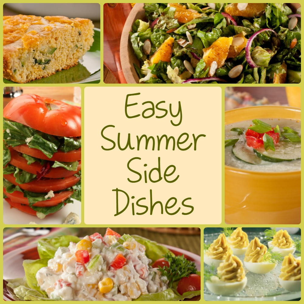 Diabetic Side Dishes  10 Easy Summer Side Dishes