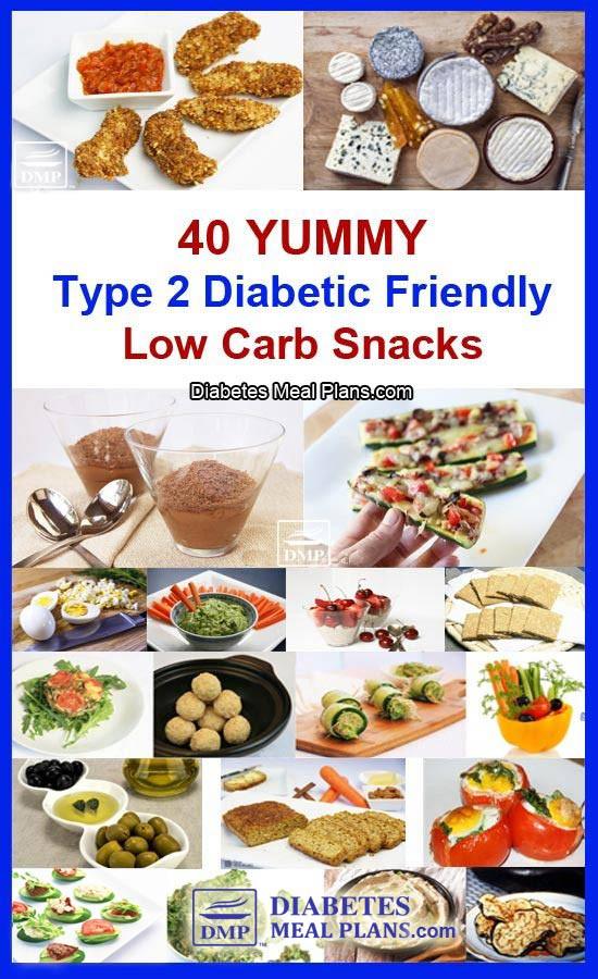 Diabetic Snack Recipes  40 Low Carb Snacks for Diabetics