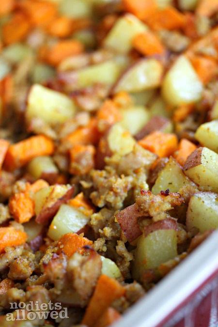 Diced Breakfast Potatoes  Roasted Breakfast Potatoes No Diets Allowed