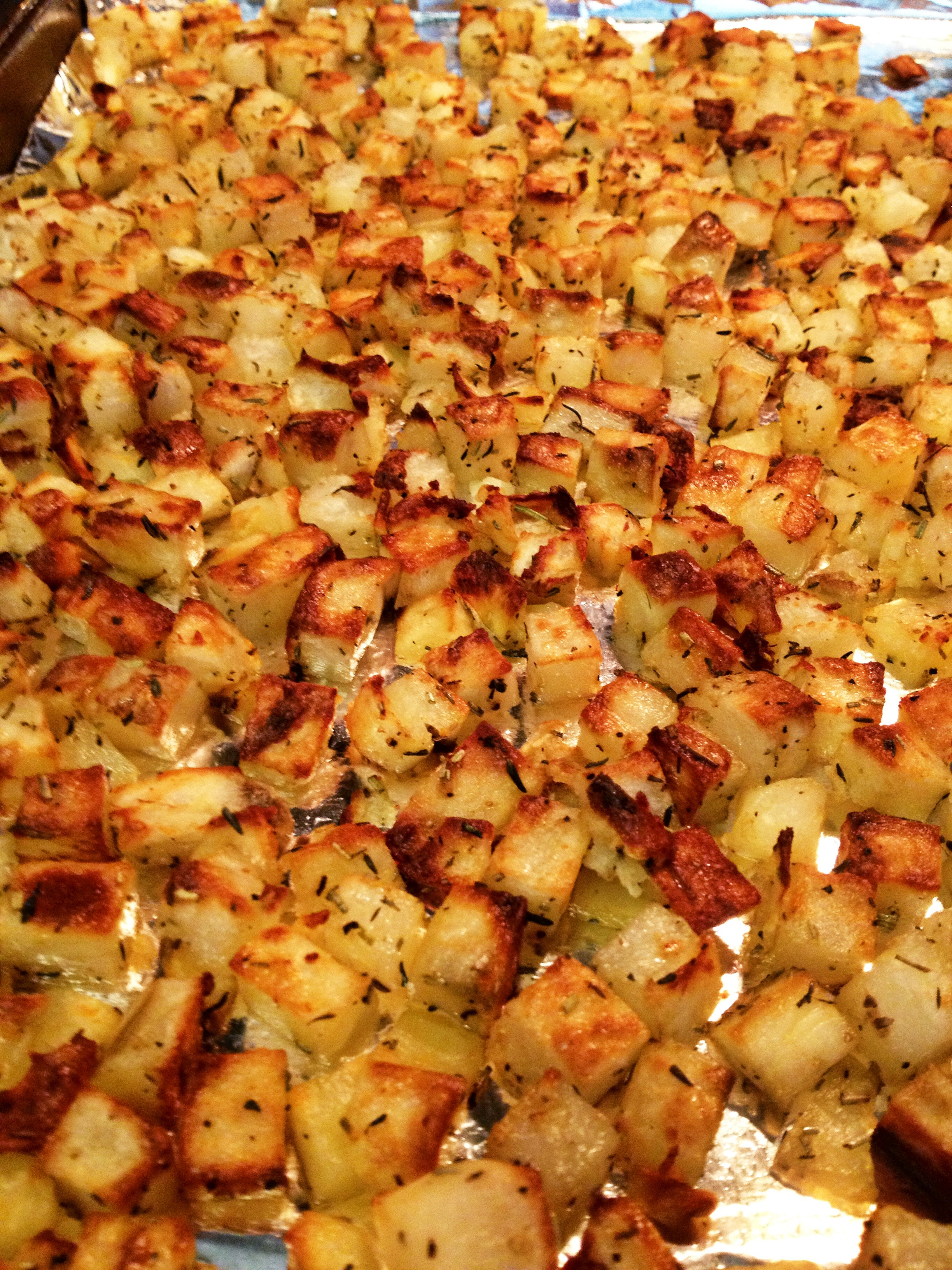 Diced Breakfast Potatoes  Oven Roasted Breakfast Potatoes