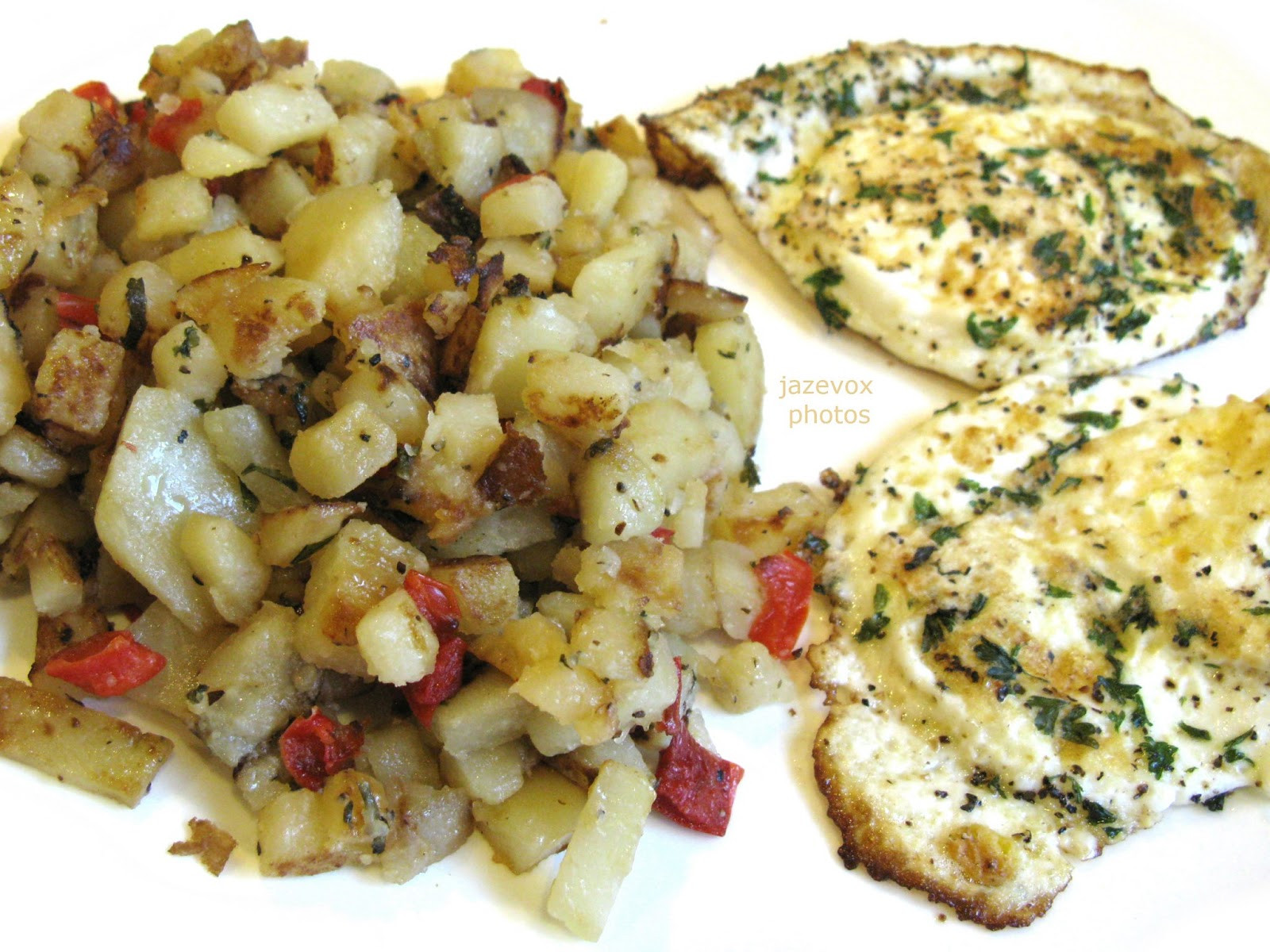 Diced Breakfast Potatoes  HomeyCircle Diced Potatoes And Over Easy Eggs For A Good