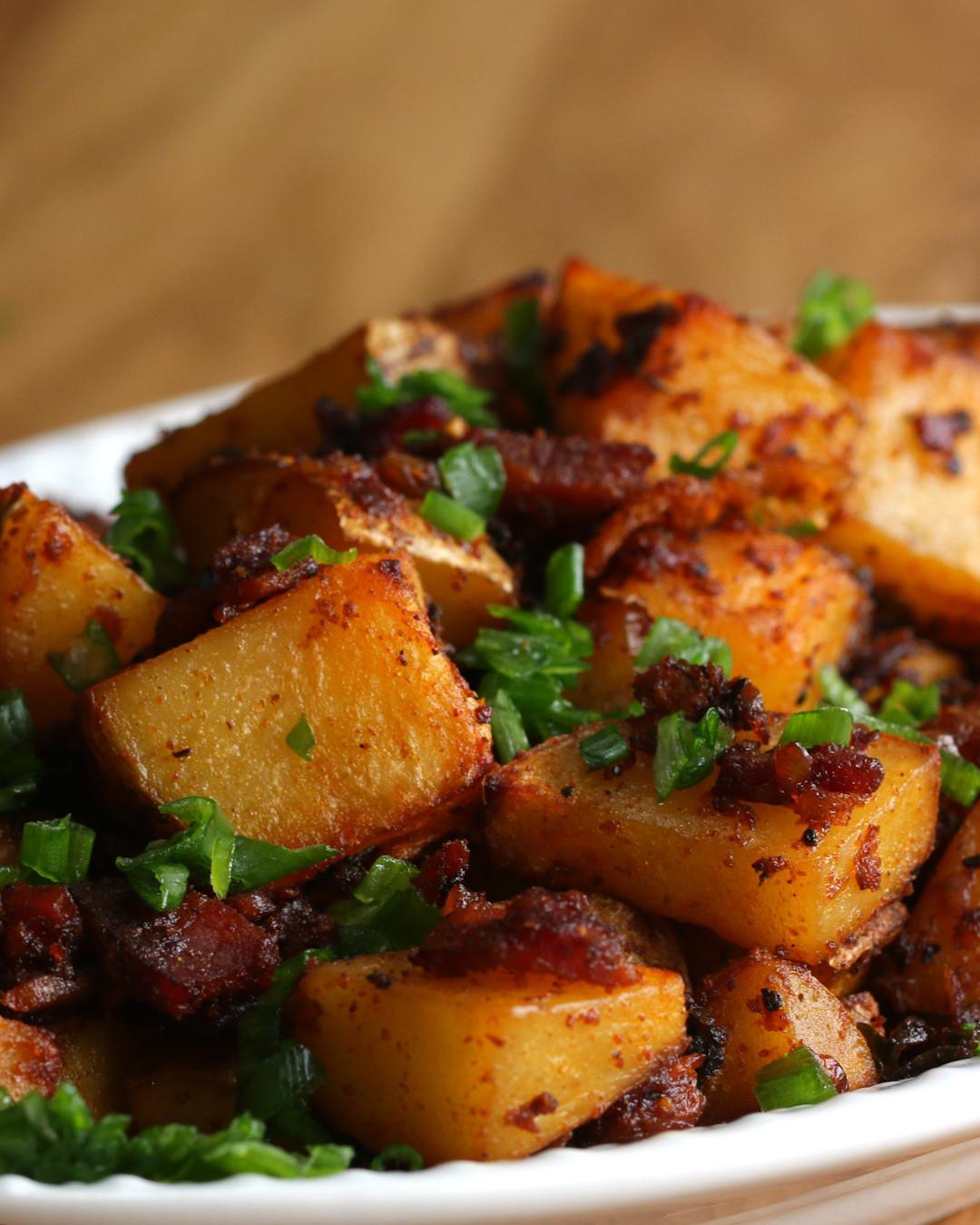 Diced Breakfast Potatoes  Loaded Breakfast Potatoes TODAY