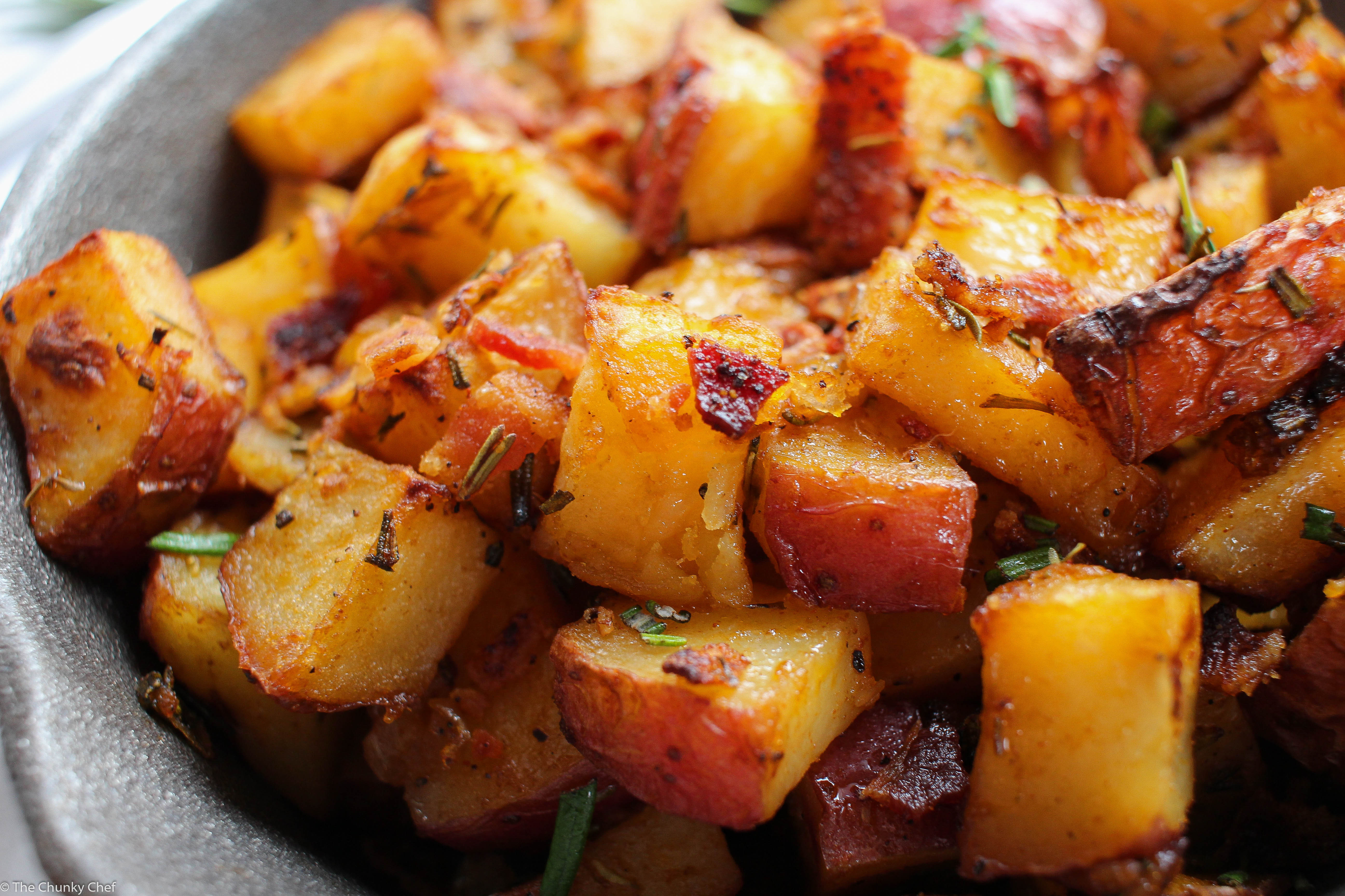 Diced Breakfast Potatoes  Oven Roasted Breakfast Potatoes The Chunky Chef