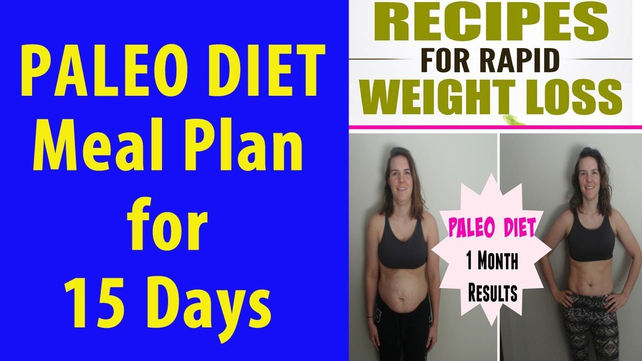 Diet Dinner Recipes  15 Day Paleo Diet Meal Plan – Every Thing About Paleo Diet