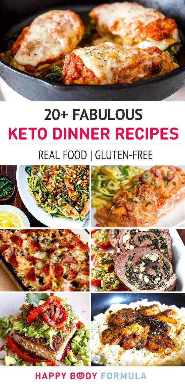 Diet Dinner Recipes  20 Fabulous Keto Dinner Recipes
